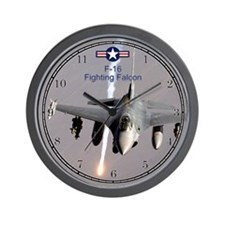 F-16 Fighting Falcon Wall Clock