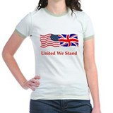London US flag t-shirts T