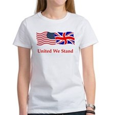 London US flag t-shirts Tee