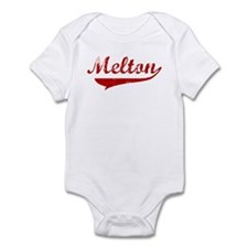 Melton (red vintage) Infant Bodysuit
