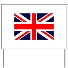 Union Jack Yard Sign