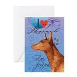 Pharaoh Hound Greeting Card