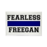 Fearless Freegan Rectangle Magnet (100 pack)