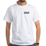 Fearless Freegan White T-Shirt