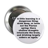 "Alexander pope quotation 2.25"" Button (100 pack)"