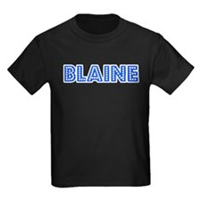 Retro Blaine (Blue) T