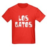 Los Gatos Faded (Silver) T