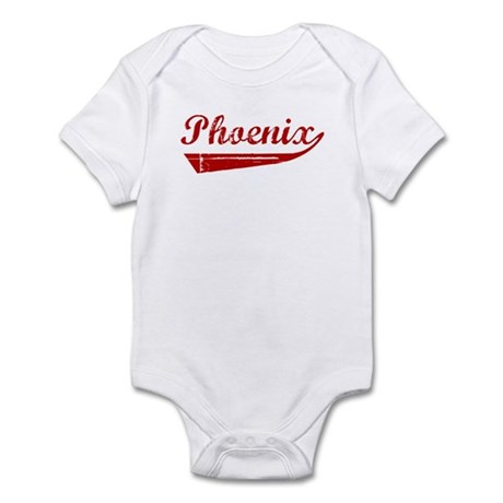 Phoenix (red vintage) Infant Bodysuit