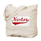 Nestor (red vintage) Tote Bag