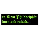 Fresh Prince Bumper Bumper Sticker