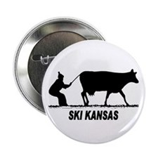 "Ski Kansas 2.25"" Button (10 pack)"