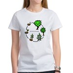 Don't Mess With Nature Women's Environment T-Shirt