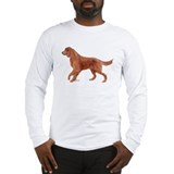 Irish setter portrait Long Sleeve T-Shirt