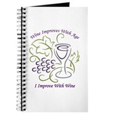 I Improve With Wine Journal