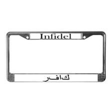 Infidel (License Plate Frame)