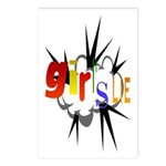 Girl's Lie Postcards (Package of 8)