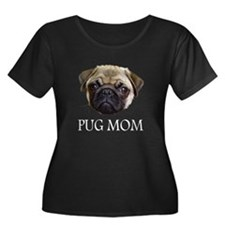 Pug Mom Dark TShirt T