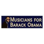 Musicians for Obama bumper sticker