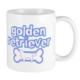 Powderpuff Golden Retriever Coffee Mug