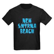 New Smyrna B.. Faded (Blue) T