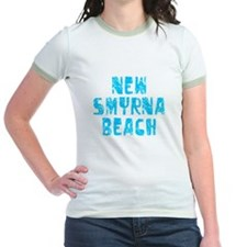 New Smyrna B.. Faded (Blue) T