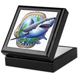 Great White 3 Keepsake Box