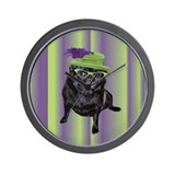 Pugly Betty Wall Clock