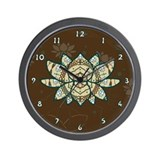 The Lotus Wall Clock