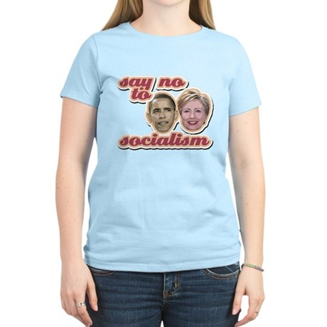 Say No To Socialism Women's Light T-Shirt