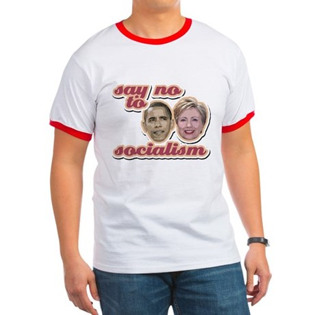Say No To Socialism Ringer T