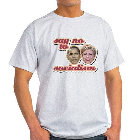 Say No To Socialism Light T-Shirt