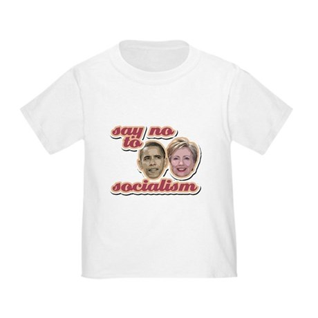 Say No To Socialism Toddler T-Shirt