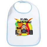 Racecar 2nd Birthday Bib