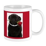 Pugs and Kisses Coffee Small Mug