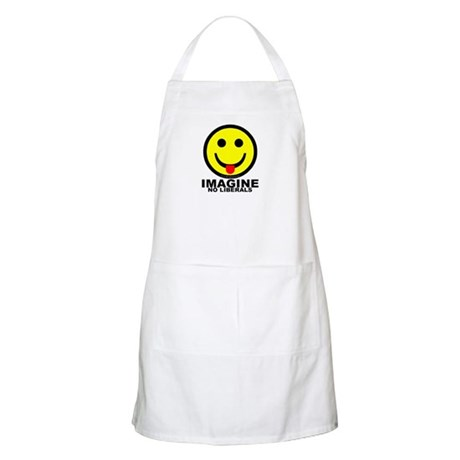 Imagine No Liberals BBQ Apron