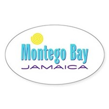 Montego Bay - Oval Decal