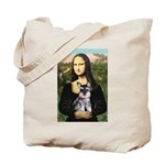 Mona Lisa's Schnauzer Puppy Tote Bag