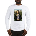 Mona Lisa's Schnauzer Puppy Long Sleeve T-Shirt