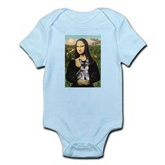 Mona Lisa's Schnauzer Puppy Infant Bodysuit