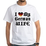 I Love My German Wife Shirt