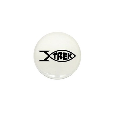 Trek Fish Mini Button