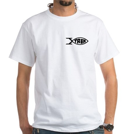 Trek Fish White T-Shirt