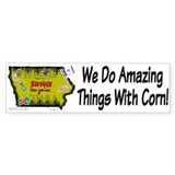 IA-Corn! Bumper Bumper Sticker