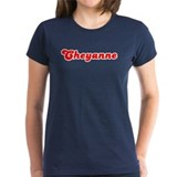 Retro Cheyanne (Red) Tee