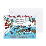 Santa's Team Building Greeting Cards (Pk of 10)