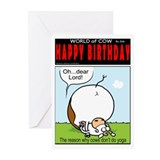 No Yoga Greeting Cards (Pk of 20)