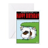 Cramped Cows Greeting Cards (Pk of 20)