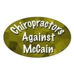 Chiropractors Against McCain bumper sticker
