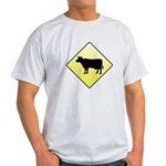 CAUTION! Cattle Crossing Light T-Shirt
