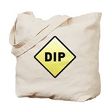 CAUTION! DIP Tote Bag